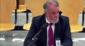Jaime Mayor Oreja en su comparecencia ante el tribunal