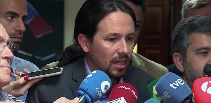 Unidos Podemos deja en el aire candidato y fecha de la moción de censura a la espera de los demás partidos