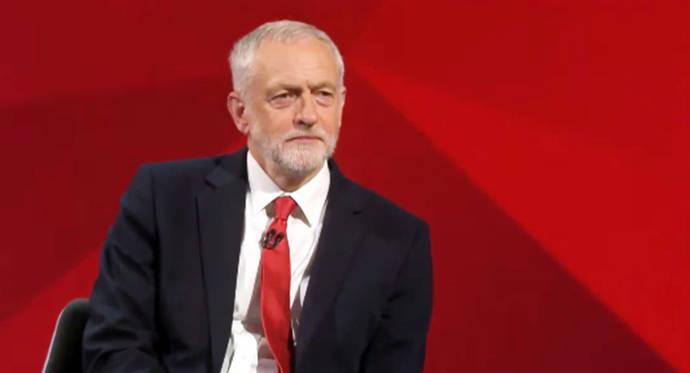 Rt Hon Jeremy Corbyn, Leader of the Labour Party, UK Outlining Labour's Defence and Foreign Policy