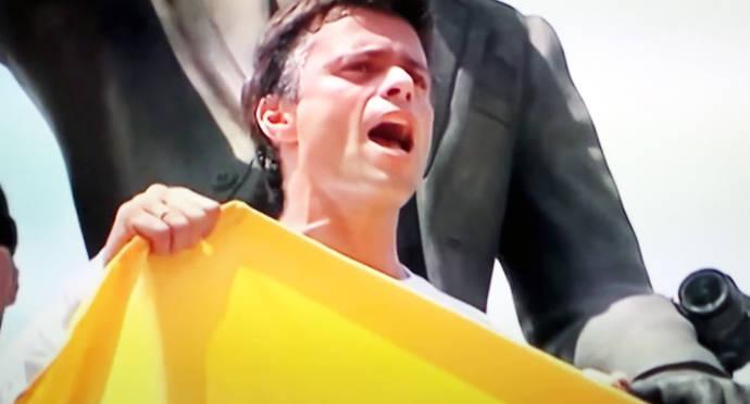 El dirigente opositor Leopoldo López, en una foto de archivo