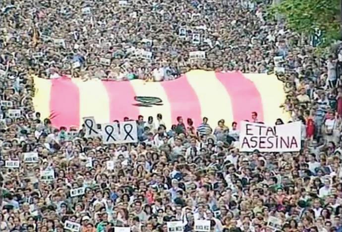 20 años de Miguel Ángel Blanco: del desborde ciudadano contra la violencia de ETA a la pugna política por los homenajes