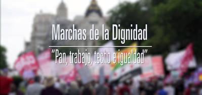 Miles de personas se manifiestan en las Marchas de la Dignidad contra la corrupción y los recortes