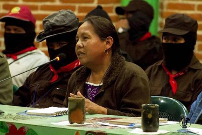 Candidata del Congreso Nacional Indígena para Presidenciales 2018 en México