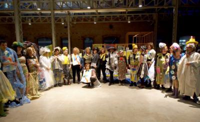Desfile de Moda en Plástico reciclable