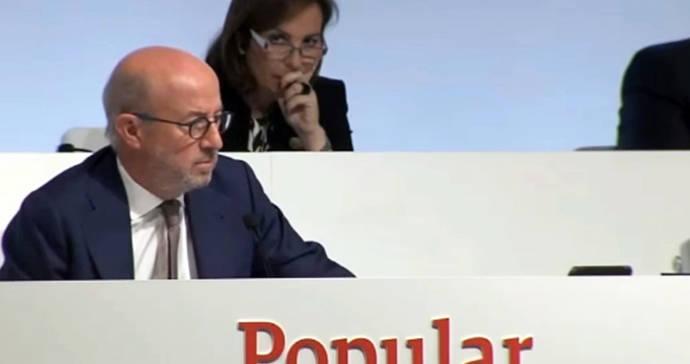 Popular se desploma casi un 40% en la semana acosado por los rumores de intervención