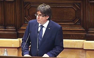 El Presidente del Govern, Carles Puigdemont, en una foto de archivo