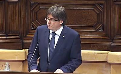 Puigdemont promete que habrá urnas y censo para el referéndum sin aclarar cómo