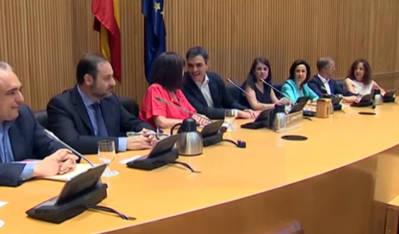 Pedro Sánchez planteará a Iglesias y Rivera una reunión la semana que viene