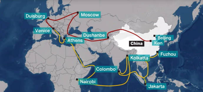 China's Belt and Road Initiative: an ancient route renewed