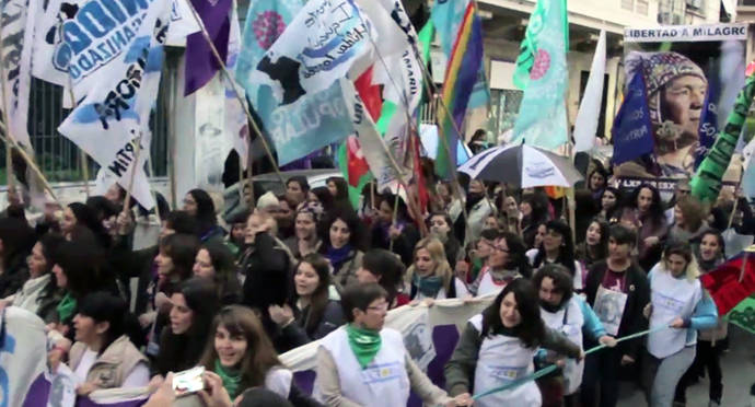 Tercera marcha de #NiUnaMenos en Argentina