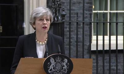 May ha lamentado profundamente que el ataque haya sido contra familias y jóvenes