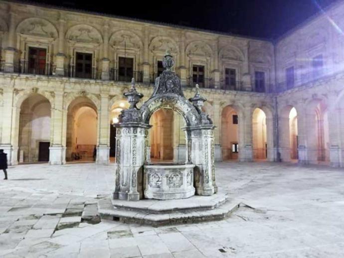 Caballeros en la Mar en el Monasterio de Uclés (Cuenca)