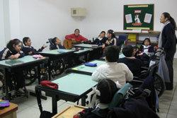 Madre Coraje y la Fundación Ordesa acondicionan las instalaciones de un centro de personas discapacitadas en Lima