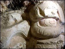 El gran mascarón maya recientemente descubierto