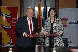 La SECI firma un Memorando de cooperación para el desarrollo con la Secretaría General Iberoamer