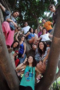 Primera semana de trabajo de los jóvenes voluntarios en Nicaragua