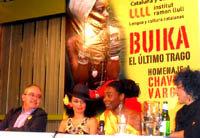 Concha Buika durante su conferencia de prensa