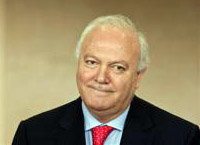 Miguel Ángel Moratinos. Ministro de RR.EE. del gobierno español