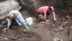Los restos de gladiadores romanos están muy bien conservados