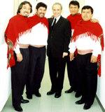 José Carreras y el Grupo Alturas