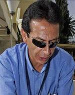 El ex ministro de Culturas de Bolivia, Pablo Groux.