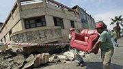 Una imagen del terremoto